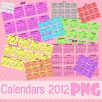Calendars 2012 PNG by NyaAkemiChan