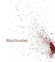 Blood brushes by Vic1ous
