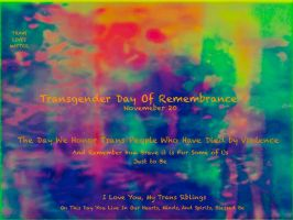 Transgender Day of Remembrance by KittenDiotima
