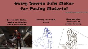 Using Source Film Maker for Posing Material by xchainlinkx