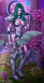 Tyrande - Heroes of the storm by itzaspace