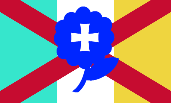 SSS Universe Country of palmers State Flag 2 by ajlew