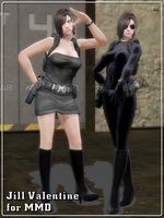 [MMD] Jill Valentine for MMD (Model DL) by Riveda1972