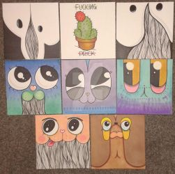 Hand made greeting cards 4 sale! by TonyFitzLBU