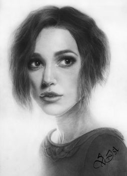 Keira Christina Knightley by V-Ist