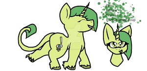 Pea MLP adopt by smartypance333