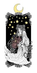 The Rabbits in the Moon by trungles