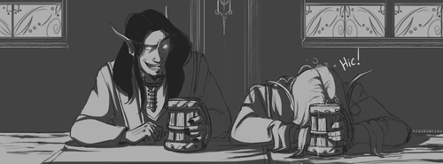 At the tavern by blacksmiley