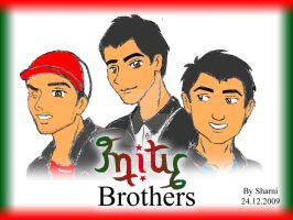 3nity Brothers Ambigram by sthaque