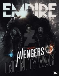 Poster: Fantastic Four | Empire Cover Infinity War by 4n4rkyX