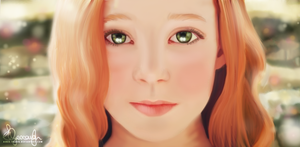 Lily Evans by Aerie-Faerie