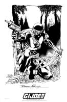 IDW Signature Plate Snake Eyes by RobertAtkins