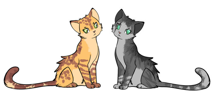 Cats adoptables by SpeedeyM