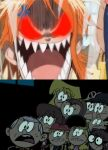 Loud Kids Scared of Nami by magmon47