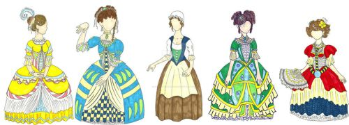 She Stoops to Conquer Designs by Froggy-Spaztastic