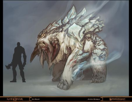 God of War - Ice Beast by Raggedy-Annedroid