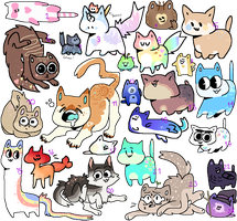 Thats a lot of cats wtf | 11/24 OPEN by Starry--Adopts
