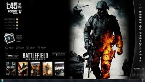 Battlefield BC 2 Rainmeter by reiterman
