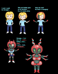 Shiny Scolipede tf sequence (Anthro) by Chibi-poketf