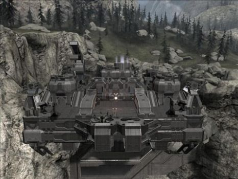 Halo Reach Map: UNSC by KindiChan