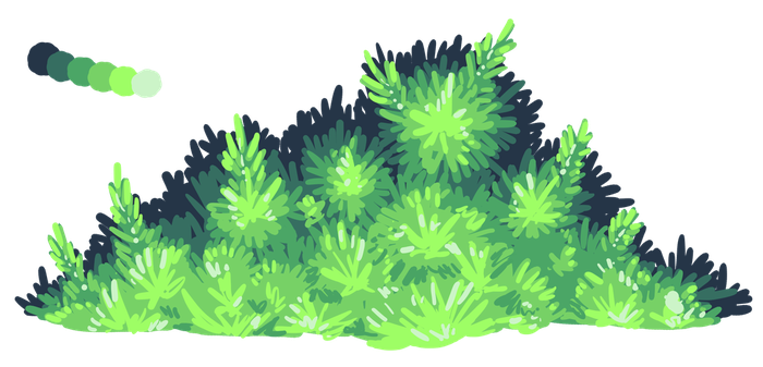 Free to Use - Generic Bush by Avajes