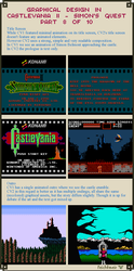 Graphical Design in Castlevania 2 - Part 8 of 10 by Cyangmou