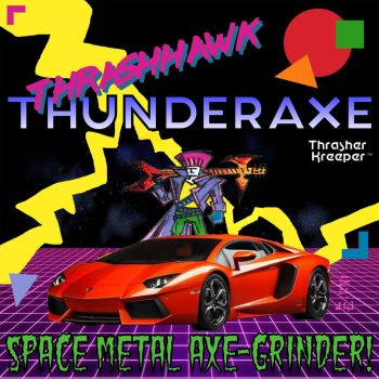 ThrashHawk MacThunderAxe! - Trapper Keeper Cover by MrReese-Mysteries