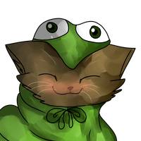 Turtle Kitty OwO by Cackateel