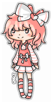 = OC ll Charnette {drawings-pixels VER} by iAuliffy