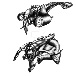 AI flying units by Vortexcordis