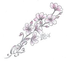 Blossoms Climb chicano  Design by 2Face-Tattoo