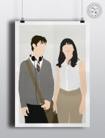 500 Days of Summer - Minimalist Poster Design by Posteritty