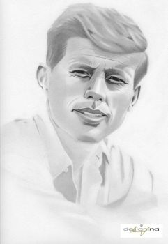 John F. Kennedy by nathanng