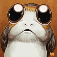 Daily Sketches Attack of the Porgs by fedde