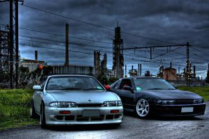 S14 and Sileighty by darkrams69