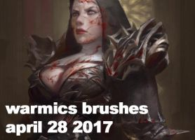 Brushes as of April 28 2017 by Warmics