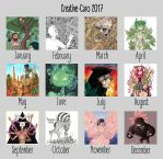 Summary of art 2017 by Creative-Caro