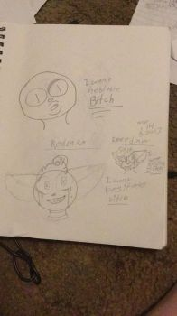 I fucking redrew two old drawings by LilacLovesSoda
