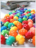 rainbow beads by openspaces