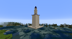 Minecraft - Lighthouse of Alexandria by MinecraftArchitect90