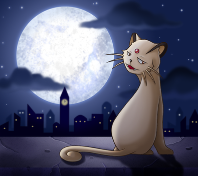 :By the Moonlight: Persian by endless-whispers