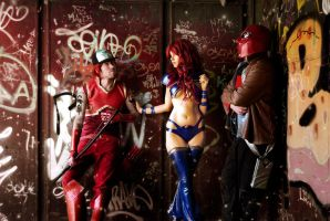 Red Hood And The Outlaws Cosplay - Meeting again by FioreSofen