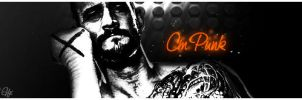 Cm Punk by KINGGFX1