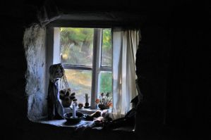 Through the hovel window by aartvark