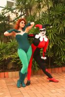 BTAS: Harley and Ivy by theprincessbee
