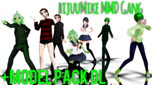 [MMD] BijuuMike Gang {Model Pack DL} by Alex-MMD-Studios