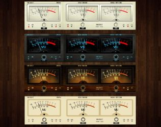 VU System Meter for xwidget by Jimking