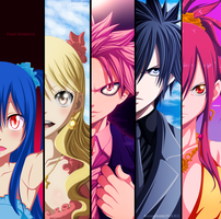 Collabs-Fairy Tail by MilarS