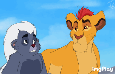Lion Guard- (Gif Re-Animate) by Genocide-Knight