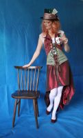 Lady Mad Hatter 6 by mizzd-stock